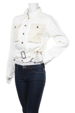 Дамско яке Desigual, Размер XL, Цвят Екрю, Памук, Цена 65,67лв.