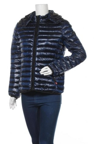 Γυναικείο μπουφάν Frieda & Freddies, Μέγεθος L, Χρώμα Μπλέ, Πολυαμίδη, φτερά και πούπουλα, Τιμή 77,44€