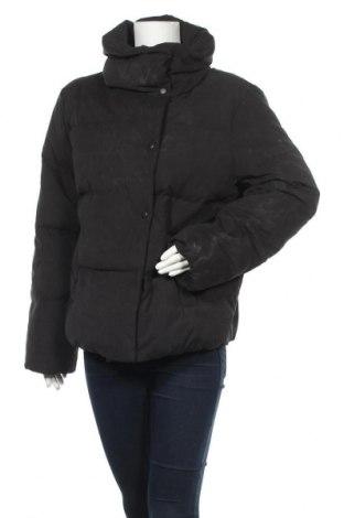 Γυναικείο μπουφάν Kiomi, Μέγεθος L, Χρώμα Μαύρο, 85% πολυεστέρας, 15% πολυαμίδη, φτερά και πούπουλα, Τιμή 23,27€