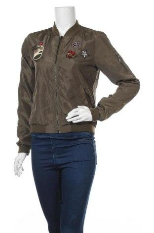 Дамско яке ONLY, Размер S, Цвят Зелен, Полиестер, Цена 40,95лв.