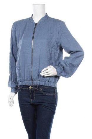 Γυναικείο μπουφάν Rick Cardona, Μέγεθος M, Χρώμα Μπλέ, Lyocell, Τιμή 18,70€
