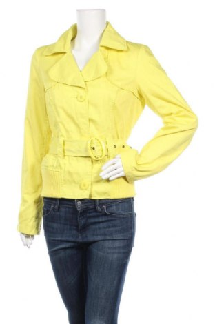 Дамско яке Vero Moda, Размер L, Цвят Жълт, 65% полиестер, 35% памук, Цена 46,20лв.