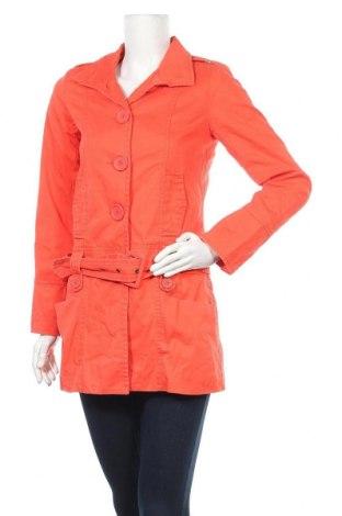 Дамско яке Y.o.u, Размер XS, Цвят Оранжев, Памук, Цена 17,85лв.