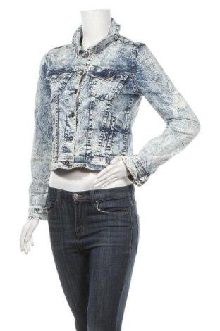 Γυναικείο μπουφάν Yes Or No, Μέγεθος S, Χρώμα Μπλέ, 98% βαμβάκι, 2% ελαστάνη, Τιμή 22,41€