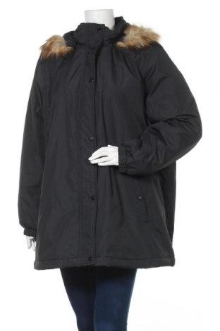 Γυναικείο μπουφάν Zizzi, Μέγεθος L, Χρώμα Μαύρο, Πολυεστέρας, Τιμή 45,14€