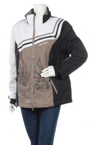 Γυναίκειο μπουφάν για χειμερινά σπορ Ulla Popken, Μέγεθος L, Χρώμα Πολύχρωμο, Τιμή 31,56€