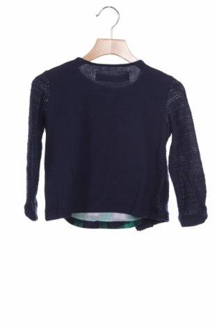 Παιδική μπλούζα Desigual, Μέγεθος 3-4y/ 104-110 εκ., Χρώμα Μπλέ, 53% πολυεστέρας, 27% βισκόζη, 19% βαμβάκι, 1% ελαστάνη, Τιμή 11,47€