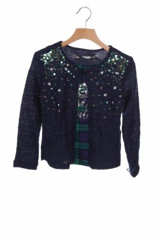 Παιδική μπλούζα Desigual, Μέγεθος 4-5y/ 110-116 εκ., Χρώμα Μπλέ, 53% πολυεστέρας, 27% βισκόζη, 19% βαμβάκι, 1% ελαστάνη, Τιμή 11,47€