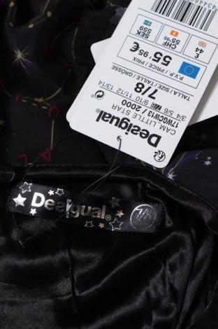 Παιδική μπλούζα Desigual, Μέγεθος 6-7y/ 122-128 εκ., Χρώμα Μαύρο, Πολυεστέρας, Τιμή 19,07€