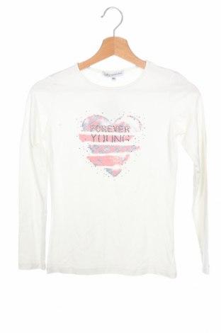 Παιδική μπλούζα Patrizia Pepe, Μέγεθος 11-12y/ 152-158 εκ., Χρώμα Λευκό, Τιμή 13,64€