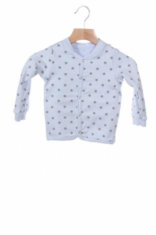 Παιδική ζακέτα Belly Button, Μέγεθος 6-9m/ 68-74 εκ., Χρώμα Μπλέ, 95% βαμβάκι, 5% ελαστάνη, Τιμή 15,59€