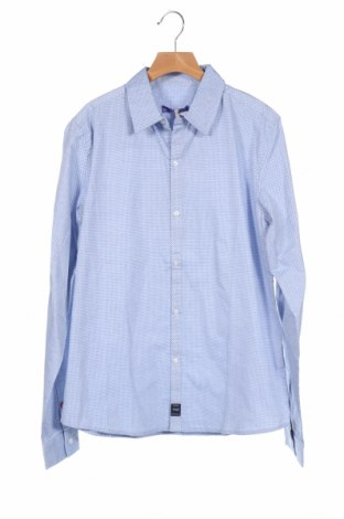 Παιδικό πουκάμισο Gaudi, Μέγεθος 15-18y/ 170-176 εκ., Χρώμα Μπλέ, Βαμβάκι, Τιμή 30,54€