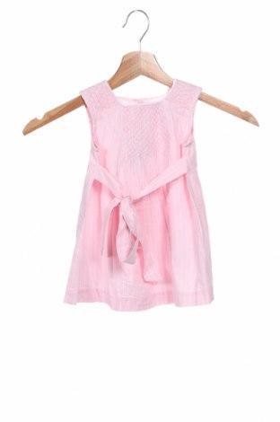 Παιδικό φόρεμα, Μέγεθος 9-12m/ 74-80 εκ., Χρώμα Ρόζ , Βαμβάκι, Τιμή 12,47€