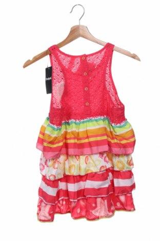 Παιδικό φόρεμα Desigual, Μέγεθος 12-13y/ 158-164 εκ., Χρώμα Ρόζ , Βαμβάκι, Τιμή 17,79€