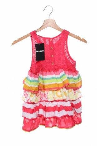 Παιδικό φόρεμα Desigual, Μέγεθος 8-9y/ 134-140 εκ., Χρώμα Ρόζ , Βαμβάκι, Τιμή 17,79€