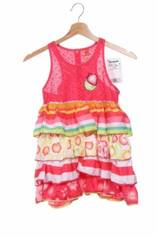 Παιδικό φόρεμα Desigual, Μέγεθος 10-11y/ 146-152 εκ., Χρώμα Ρόζ , Βαμβάκι, Τιμή 17,79€