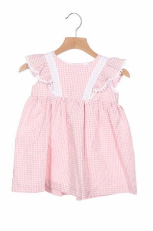 Παιδικό φόρεμα Lola Palacios, Μέγεθος 18-24m/ 86-98 εκ., Χρώμα Ρόζ , 65% βαμβάκι, 35% πολυεστέρας, Τιμή 24,33€