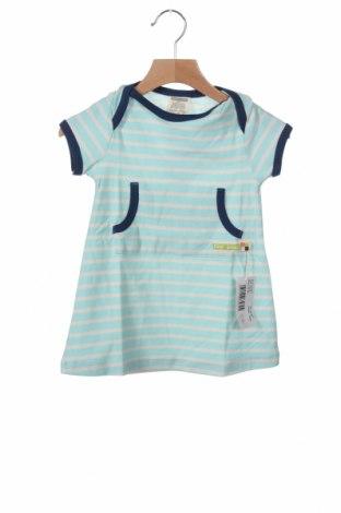 Παιδικό φόρεμα Loud + Proud, Μέγεθος 9-12m/ 74-80 εκ., Χρώμα Μπλέ, Βαμβάκι, Τιμή 18,44€