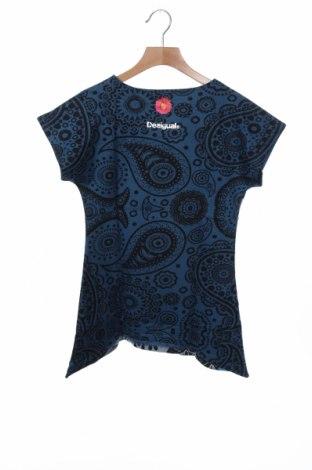 Παιδικό τουνίκ Desigual, Μέγεθος 7-8y/ 128-134 εκ., Χρώμα Μπλέ, Βαμβάκι, Τιμή 16,01€
