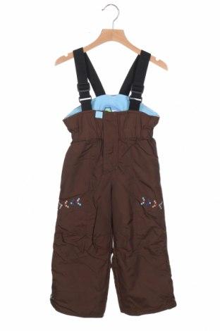 Παιδική σαλοπέτα για χειμερινά σπορ, Μέγεθος 3-4y/ 104-110 εκ., Χρώμα Καφέ, Πολυεστέρας, Τιμή 19,74€