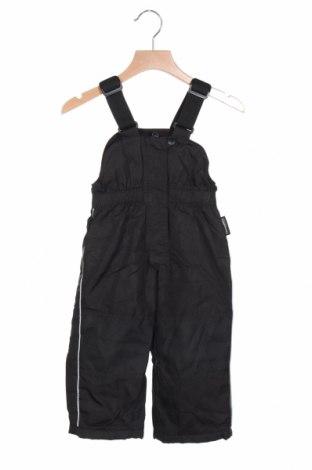 Παιδική σαλοπέτα για χειμερινά σπορ Alpinetek, Μέγεθος 12-18m/ 80-86 εκ., Χρώμα Μαύρο, Πολυεστέρας, Τιμή 5,77€