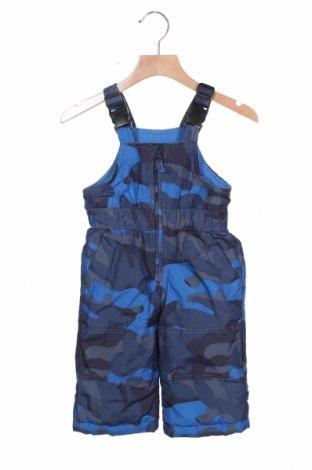 Παιδική σαλοπέτα για χειμερινά σπορ Oshkosh, Μέγεθος 9-12m/ 74-80 εκ., Χρώμα Μπλέ, Πολυεστέρας, Τιμή 19,74€