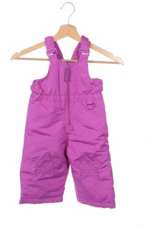 Παιδική σαλοπέτα για χειμερινά σπορ Wonder Kids, Μέγεθος 12-18m/ 80-86 εκ., Χρώμα Βιολετί, Πολυεστέρας, Τιμή 14,81€