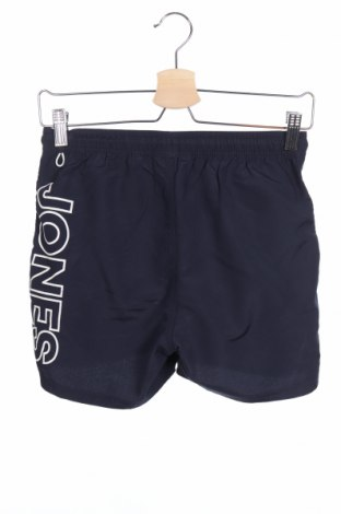 Παιδικό κοντό παντελόνι Jack & Jones, Μέγεθος 11-12y/ 152-158 εκ., Χρώμα Μπλέ, Πολυεστέρας, Τιμή 10,05€