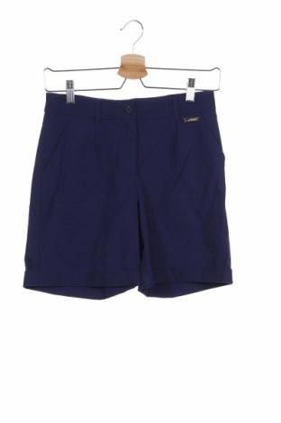Παιδικό κοντό παντελόνι TWINSET, Μέγεθος 12-13y/ 158-164 εκ., Χρώμα Μπλέ, 75% βαμβάκι, 22% πολυαμίδη, 3% ελαστάνη, Τιμή 25,23€