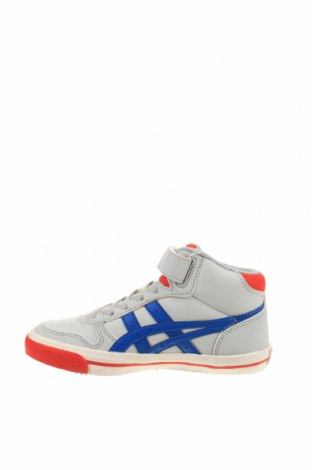 Παιδικά παπούτσια ASICS, Μέγεθος 30, Χρώμα Γκρί, Δερματίνη, Τιμή 32,51€