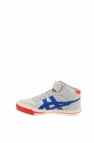 Παιδικά παπούτσια ASICS, Μέγεθος 27, Χρώμα Γκρί, Δερματίνη, Τιμή 32,17€
