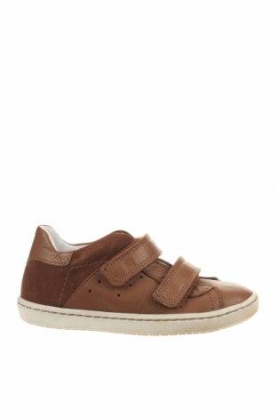 Детски обувки Bo-Bell, Размер 27, Цвят Кафяв, Естествена кожа, Цена 55,76лв.