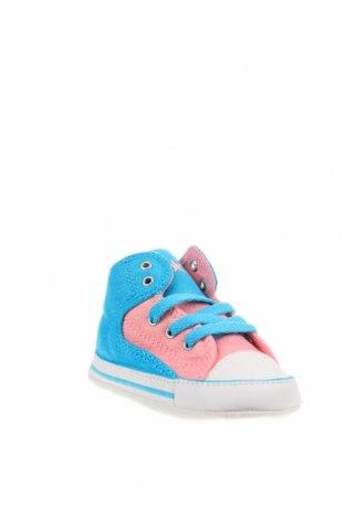 Παιδικά παπούτσια Converse, Μέγεθος 19, Χρώμα Πολύχρωμο, Κλωστοϋφαντουργικά προϊόντα, Τιμή 16,12€