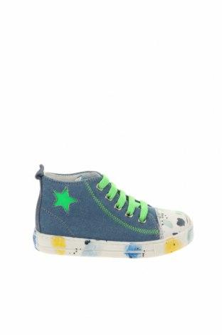 Детски обувки Falcotto, Размер 25, Цвят Син, Текстил, естествена кожа, Цена 44,85лв.