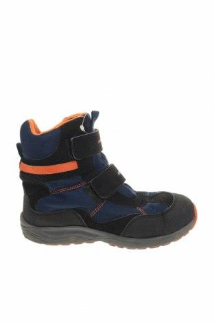 Παιδικά παπούτσια Geox, Μέγεθος 34, Χρώμα Καφέ, Γνήσιο δέρμα, κλωστοϋφαντουργικά προϊόντα, Τιμή 24,06€