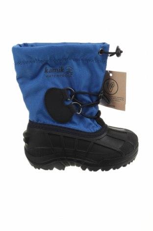 Παιδικά παπούτσια Kamik, Μέγεθος 26, Χρώμα Μπλέ, Κλωστοϋφαντουργικά προϊόντα, πολυουρεθάνης, Τιμή 32,16€