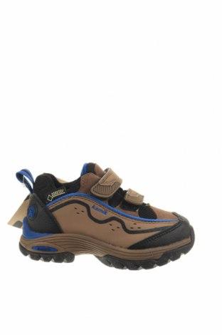 Παιδικά παπούτσια Kamik, Μέγεθος 22, Χρώμα Καφέ, Γνήσιο δέρμα, φυσικό σουέτ, Τιμή 14,20€