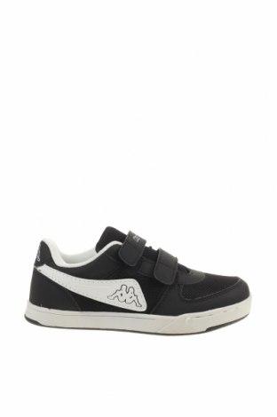 Детски обувки Kappa, Размер 32, Цвят Черен, Еко кожа, текстил, Цена 46,24лв.
