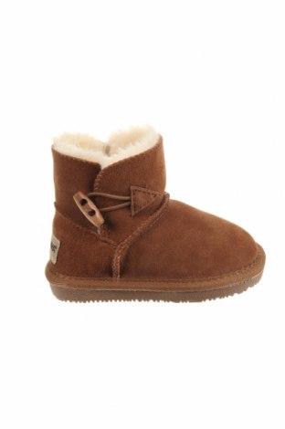 Παιδικά παπούτσια Minnetonka, Μέγεθος 23, Χρώμα Καφέ, Φυσικό σουέτ, Τιμή 10,75€