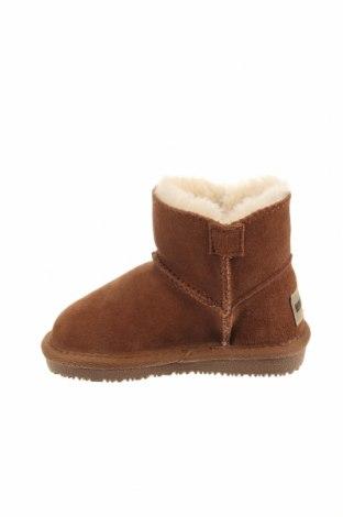 Παιδικά παπούτσια Minnetonka, Μέγεθος 23, Χρώμα Καφέ, Φυσικό σουέτ, Τιμή 34,39€