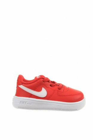 Детски обувки Nike, Размер 22, Цвят Червен, Естествена кожа, Цена 106,47лв.