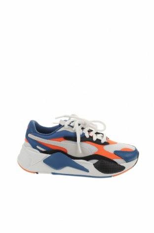 Παιδικά παπούτσια PUMA, Μέγεθος 35, Χρώμα Πολύχρωμο, Γνήσιο δέρμα, δερματίνη, κλωστοϋφαντουργικά προϊόντα, φυσικό σουέτ, Τιμή 38,27€