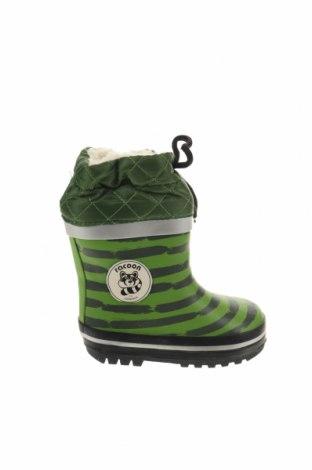 Παιδικά παπούτσια Racoon, Μέγεθος 22, Χρώμα Πράσινο, Πολυουρεθάνης, κλωστοϋφαντουργικά προϊόντα, Τιμή 26,47€