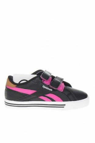 Детски обувки Reebok, Размер 29, Цвят Черен, Еко кожа, Цена 49,68лв.