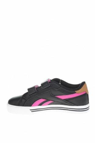 Παιδικά παπούτσια Reebok, Μέγεθος 29, Χρώμα Μαύρο, Δερματίνη, Τιμή 29,02€