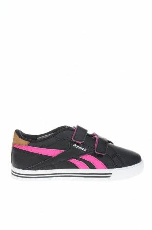 Детски обувки Reebok, Размер 34, Цвят Черен, Еко кожа, Цена 49,68лв.