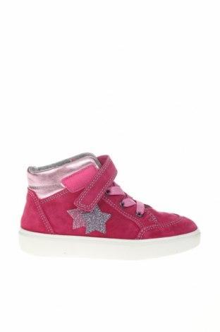 Детски обувки Richter, Размер 29, Цвят Розов, Естествен велур, естествена кожа, Цена 51,35лв.