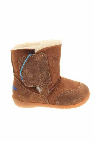 Παιδικά παπούτσια Richter, Μέγεθος 19, Χρώμα Καφέ, Φυσικό σουέτ, Τιμή 27,69€