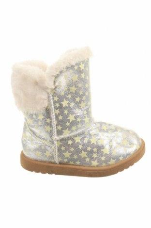 Παιδικά παπούτσια Roebuck & Co., Μέγεθος 27, Χρώμα Ασημί, Κλωστοϋφαντουργικά προϊόντα, Τιμή 10,72€