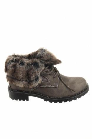Παιδικά παπούτσια Super mode, Μέγεθος 32, Χρώμα Γκρί, Δερματίνη, κλωστοϋφαντουργικά προϊόντα, Τιμή 10,18€